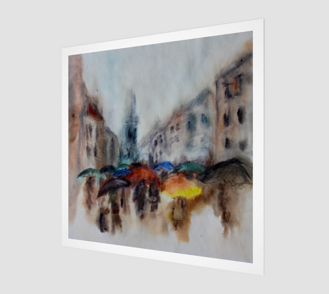 Rainy Day Fine Art Print