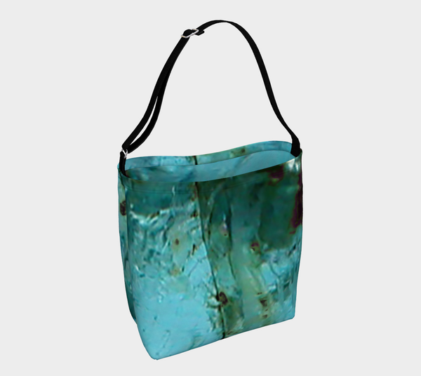 'Aquamarine' (March) Day Tote