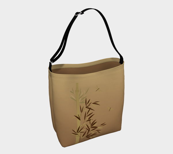 'Bamboo Dragonfly' Day Tote