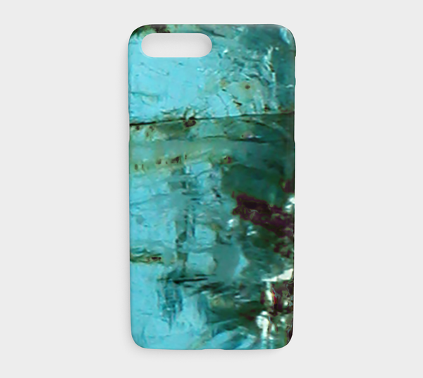 'Aquamarine' (March) iPhone Case