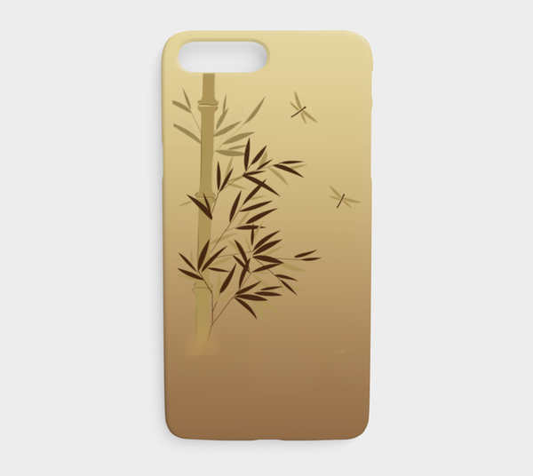 'Bamboo Dragonfly'  iPhone Case