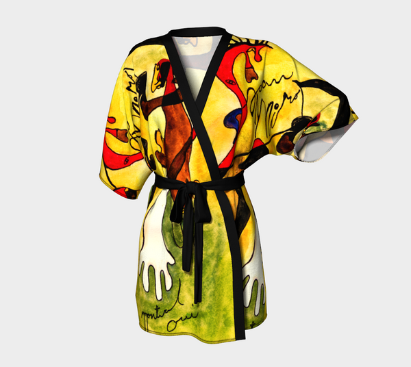 'Miro To Go' Limited Edition Women's Kimono Robe.
