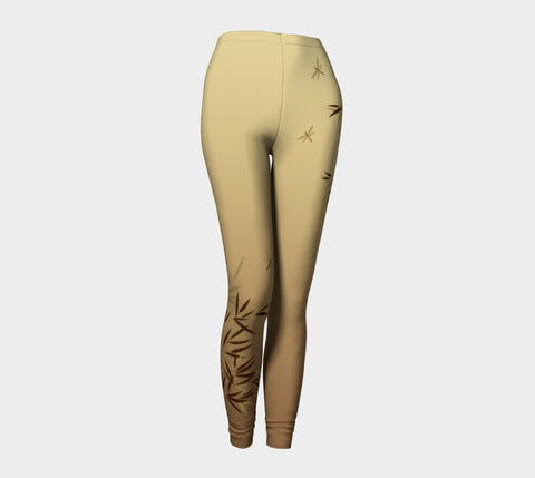 'Bamboo Dragonfly'  Leggings