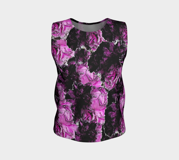 'Peonies Please' Tank Top (regular length)