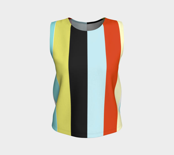 'Zoo Stripe' Tank Top (regular length)