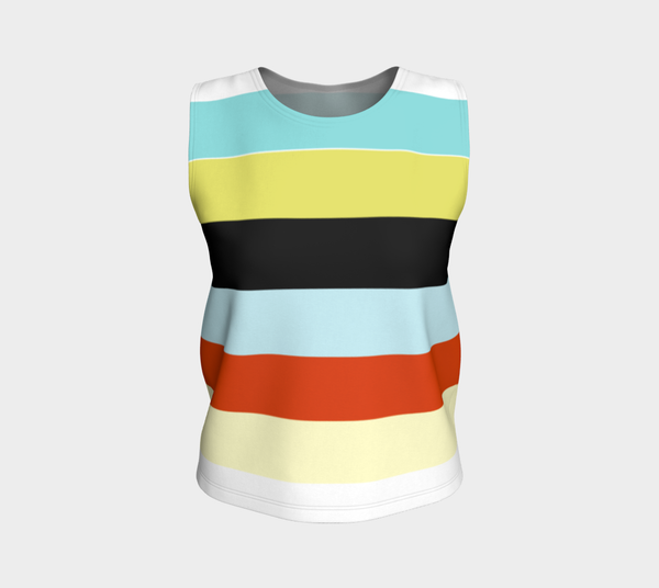 'Zoo Stripe H' Tank Top (regular length)