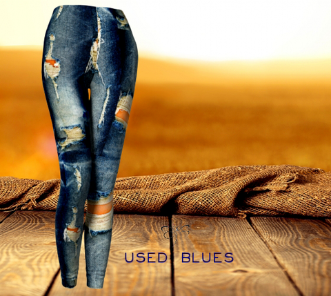 'Used Blues' leggings