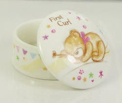 Little Bear Hugs Collection Trinket Boxes