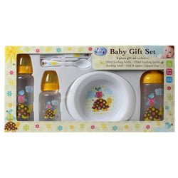 Patchwork Friends feeding set