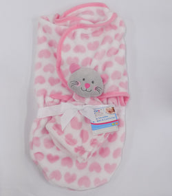 Super soft swaddle blanket with comforter