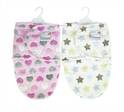 Super Soft Fleece Baby Swaddle Blanket