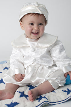 Christening Romper Outfit
