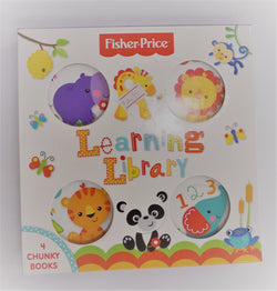 Fisher Price Learning Library Book Set