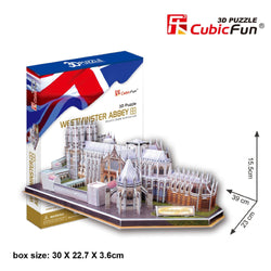 3D Puzzle - United Kingdom: Westminster Abbey