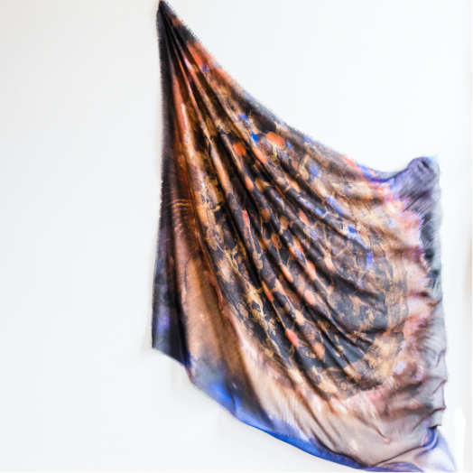 MICROCOSM, scarf by Mary Jones