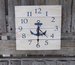 Coastal and Beach Themed Clocks