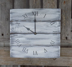 "14"" x 14"" Rustic Farmhouse clocks"