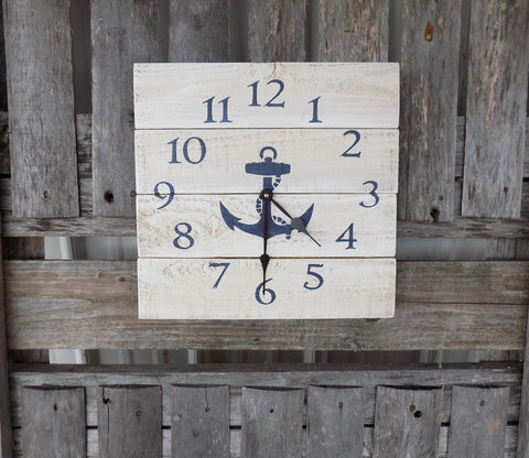 Nautical Anchor Clock - The Pallet Doctor