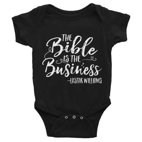 Bible Business Infant Bodysuit
