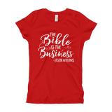 BIBLE BUSINESS Girl's T-Shirt