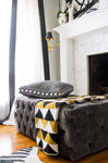London Tufted Ottoman, Rectangle