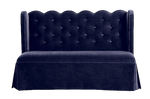 Christie Scalloped Settee