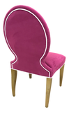 Pair, Jennifer Chairs- Performance Velvet
