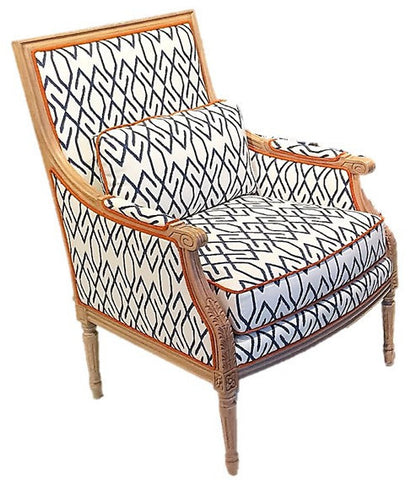 Phillip Chair, Zoe Navy (2 available)