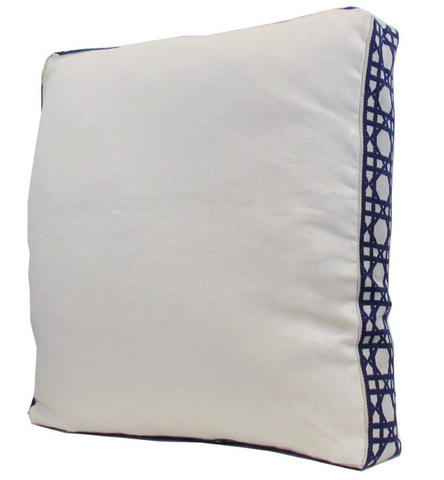Lacefield for TBH - Ivory/Navy Pillow