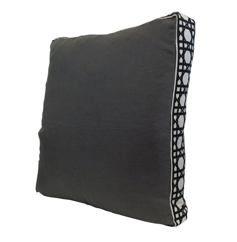 Lacefield for TBH - Grey/Black Pillow