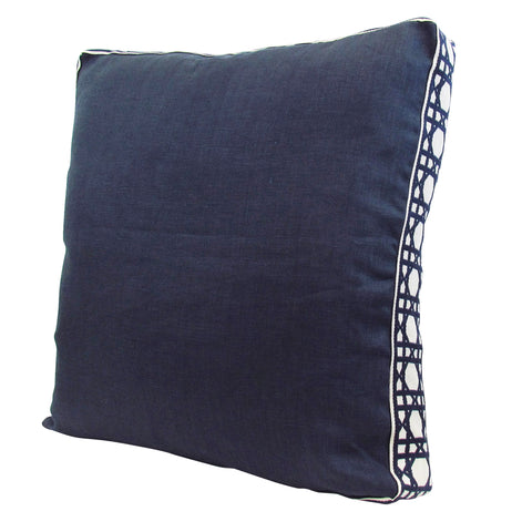 Lacefield for TBH - Navy/Navy Pillow