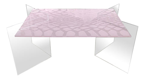 Duvall Acrylic Coffee Table