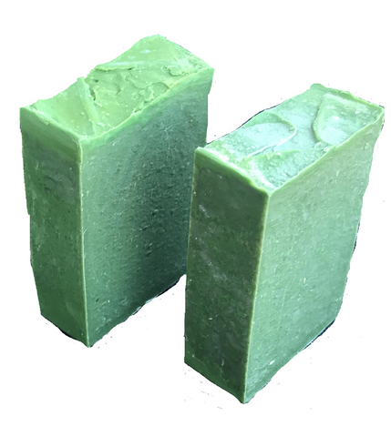 NATURAL HERBAL HAND-MADE GREEN SOAP (2-pack)