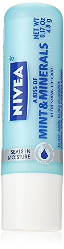 Nivea Kiss of Mint and Minerals Lip Care Loose Stick, 0.17 Ounce (Pack of 3) - RokBuy - Beauty -