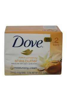 Nourishing Care Bar Soap Shea Butter 4 oz. 2-Count - RokBuy - Health personal care -