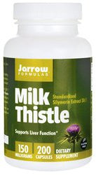 Jarrow Milk Thistle150 MG 200 CAPS - RokBuy - Health personal care -