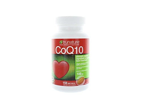 TruNature Coenzyme CoQ10 100 mg - 600 Softgels ,TruNature-h9 - RokBuy - Health personal care -