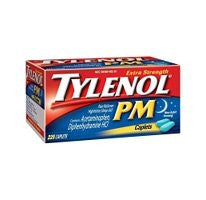 Tylenol PM Caplets - 225 ct. bottle - RokBuy - Health personal care -