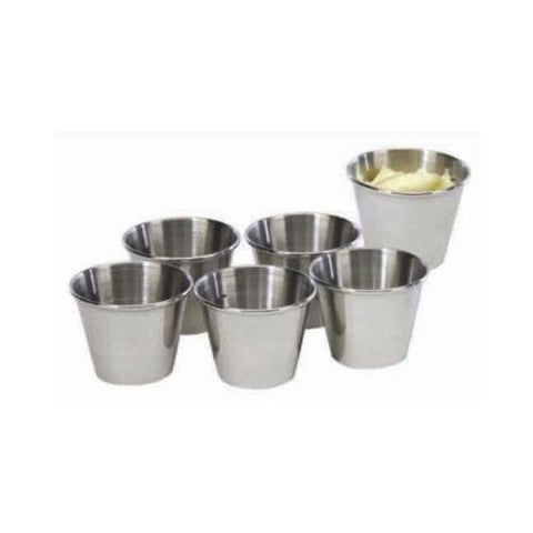 Cookpro Pro353 Steel Sauce Cup 2.5Oz Set Of 6 Mirror Polish - RokBuy - Home -