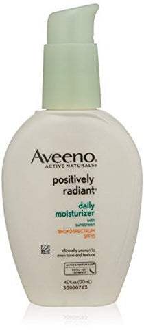 Aveeno Positively Radiant Skin Daily Moisturizer - 4 oz. per pump, Various Quantities Available - RokBuy - Beauty - 1 Pump - 1