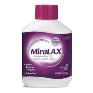MiraLAX 30-Day Laxative Powder - 17.9 oz (Pack of 2) - RokBuy - Health personal care -
