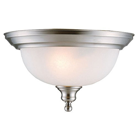 Design House Ceiling Mount Bristol Collection, Satin Nickel - RokBuy - Home -
