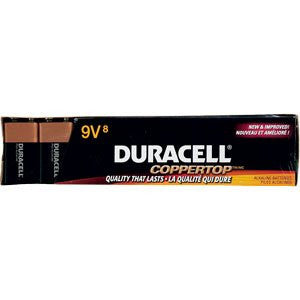 Duracell Coppertop 9 Volt Battery 8 ct - RokBuy - Health personal care -