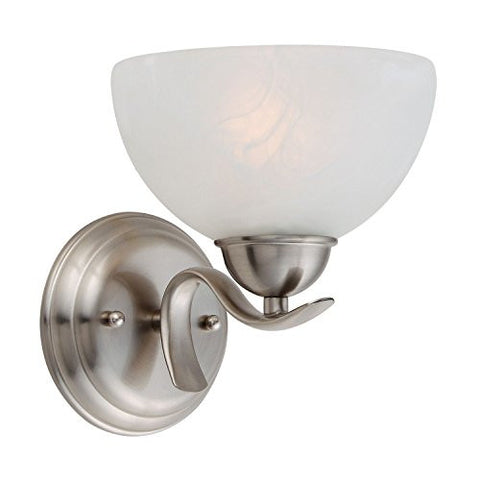 Design House Wall Mount Trevie Collection, Satin Nickel - RokBuy - Home -