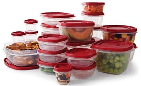 Rubbermaid Easy Find Lids BPA-Free Plastic Food Storage Containers Set - 50 piece - RokBuy - Home -  - 1