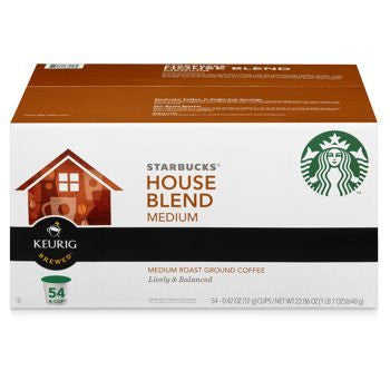 Starbucks House Blend, Medium, K-Cup Portion Pack for Keurig K-Cup Brewers 54 Count, Garden, Lawn, Maintenance - RokBuy - Outdoor living -