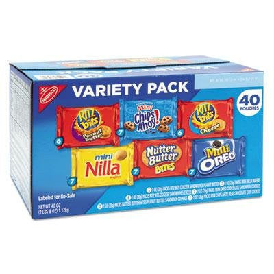 Nabisco Mini Variety Snack Packs - 40 ct. - RokBuy - Food -