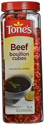 Tone's Bouillon Cubes, Beef, 32 Ounce - RokBuy - Grocery -