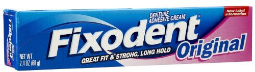Fixodent Original 2.4 oz (PACK OF 2) - RokBuy - Health personal care -