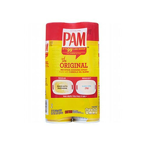PAM No-Stick Cooking Spray, 12 oz. cans, Various Quantities - RokBuy - Food - 2 Pack - 1